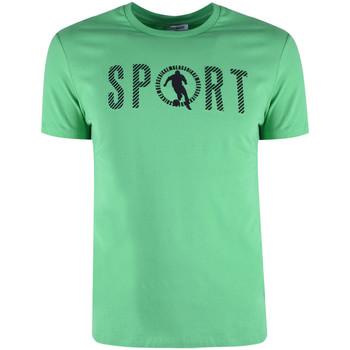 Îmbracaminte Bărbați Tricouri mânecă scurtă Bikkembergs  verde