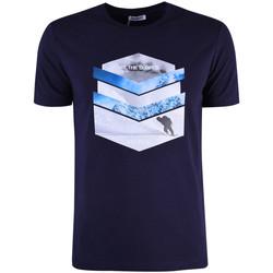 Îmbracaminte Bărbați Tricouri mânecă scurtă Bikkembergs  albastru
