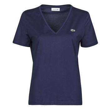 Îmbracaminte Femei Tricouri mânecă scurtă Lacoste LOUIS Albastru