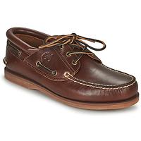 Pantofi Pantofi barcă Timberland Classic Boat 3 Eye Padded Collar Maro