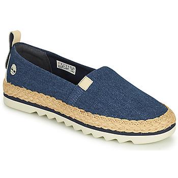 Pantofi Femei Espadrile Timberland Barcelona Bay Classic Textile Albastru