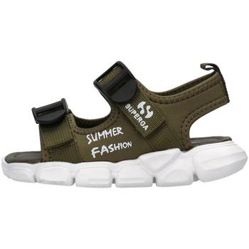 Pantofi Băieți Sandale  Superga S83T248 GREEN