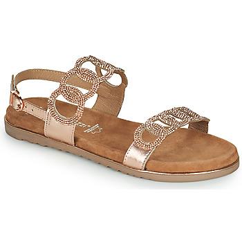 Pantofi Femei Sandale  Marco Tozzi BLERINA Roz