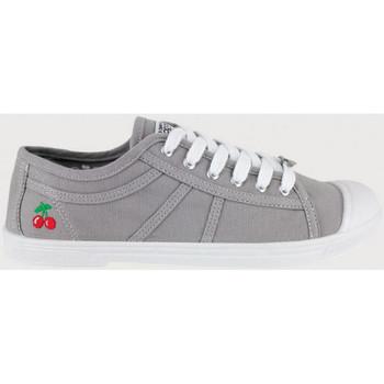 Pantofi Femei Tenis Le Temps des Cerises Basic 02 Gri