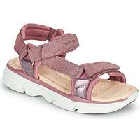 Pantofi Fete Sandale  Geox J SANDAL LUNARE GIRL Roz