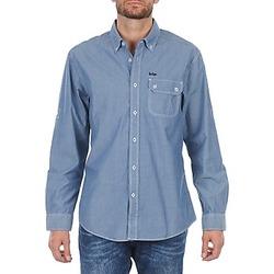 Îmbracaminte Bărbați Cămăsi mânecă lungă Lee Cooper Greyven Albastru