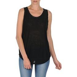 Îmbracaminte Femei Maiouri și Tricouri fără mânecă Majestic MANON Negru