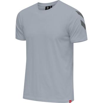 Îmbracaminte Bărbați Tricouri mânecă scurtă Hummel T-shirt  hmlLEGACY chevron gris