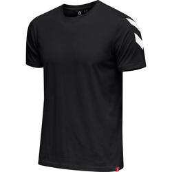 Îmbracaminte Bărbați Tricouri mânecă scurtă Hummel T-shirt  hmlLEGACY chevron noir