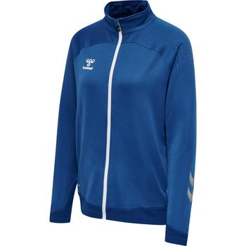 Îmbracaminte Femei Bluze îmbrăcăminte sport  Hummel Veste zippée femme  hmlLEAD poly bleu