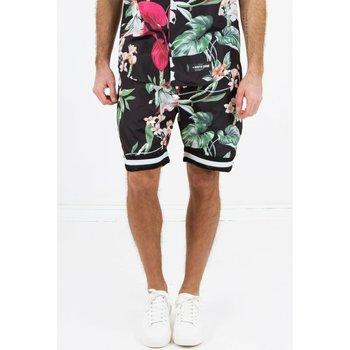 Îmbracaminte Bărbați Pantaloni scurti și Bermuda Sixth June Short  tropical noir
