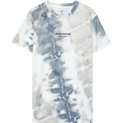 Îmbracaminte Bărbați Tricouri mânecă scurtă Sixth June T-shirt  tie dye beige