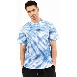 Îmbracaminte Bărbați Tricouri mânecă scurtă Sixth June T-shirt  tie dye bleu