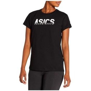 Îmbracaminte Femei Tricouri mânecă scurtă Asics Katakana Graphic Tee Negre