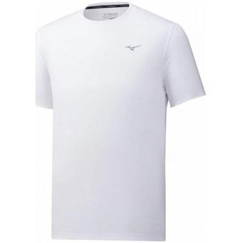 Îmbracaminte Bărbați Tricouri mânecă scurtă Mizuno Impulse Core Tee Alb