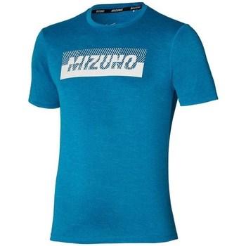 Îmbracaminte Bărbați Tricouri mânecă scurtă Mizuno Core Graphic Tee Albastre
