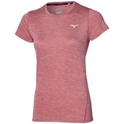 Îmbracaminte Femei Tricouri mânecă scurtă Mizuno Impulse Core Tee Roz