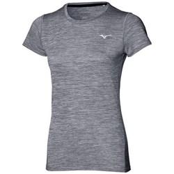 Îmbracaminte Femei Tricouri mânecă scurtă Mizuno Impulse Core Tee Gri