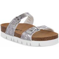 Pantofi Femei Papuci de vară Bioline 9212 VELINA ARGENTO Grigio