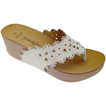 Pantofi Femei  Flip-Flops De Fonseca DEFONSANTAFEbia bianco