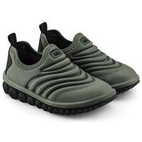Pantofi Băieți Pantofi Slip on Bibi Shoes Pantofi Sport Baieti Bibi Roller 2.0 Army Verde