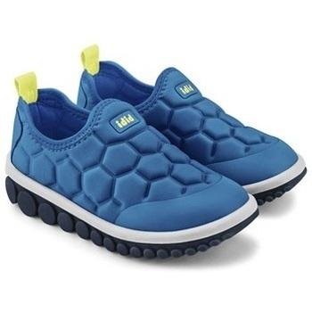 Pantofi Băieți Pantofi Slip on Bibi Shoes Pantofi Sport Baieti Bibi Roller 2.0 Aqua Football Albastru