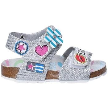 Pantofi Copii Sandale  Asso 56609 Gri