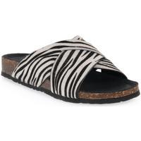 Pantofi Femei Papuci de vară Bionatura CAVALLINO BIANCO Bianco