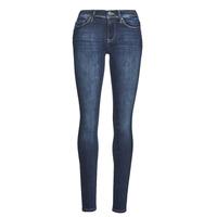 Îmbracaminte Femei Jeans slim Only ONLSHAPE Albastru / Culoare închisă