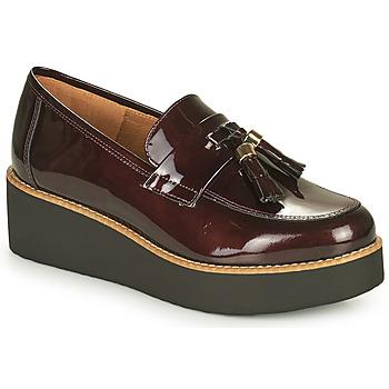 Pantofi Femei Mocasini Fericelli JOLLEGNO Bordo