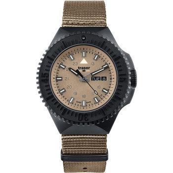 Ceasuri & Bijuterii Bărbați Ceasuri Analogice Traser H3 Traser 109860, Quartz, 46mm, 20ATM Negru