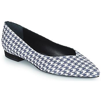 Pantofi Femei Balerin și Balerini cu curea JB Martin VERONICA Alb