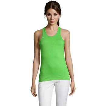 Îmbracaminte Femei Maiouri și Tricouri fără mânecă Sols Justin camiseta sin mangas Verde