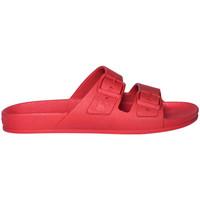 Pantofi Bărbați Papuci de vară Cacatoès Rio de janeiro roșu