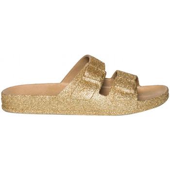 Pantofi Femei Papuci de vară Cacatoès Trancoso Auriu