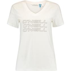 Îmbracaminte Femei Tricouri mânecă scurtă O'neill Triple Stack Alb