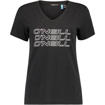 Îmbracaminte Femei Tricouri mânecă scurtă O'neill Triple Stack Negru