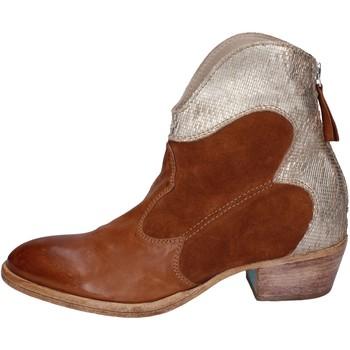 Pantofi Femei Botine Moma BH280 Maro