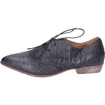 Pantofi Femei Pantofi Derby Moma BH295 Negru