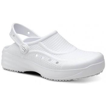 Pantofi Bărbați Saboti Feliz Caminar Zueco Laboral Flotantes Evolution - Alb