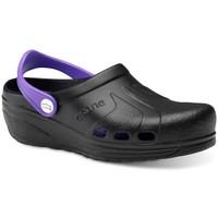 Pantofi Bărbați Saboti Feliz Caminar Zuecos Sanitarios Asana - Negru