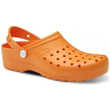 Pantofi Bărbați Saboti Feliz Caminar Zuecos Sanitarios Flotantes Gruyere - portocaliu