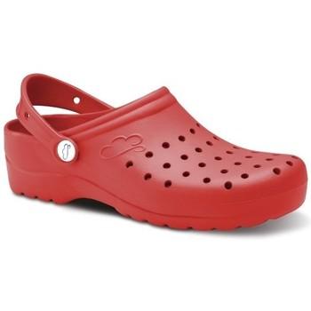 Pantofi Bărbați Saboti Feliz Caminar Zuecos Sanitarios Flotantes Gruyere - roșu