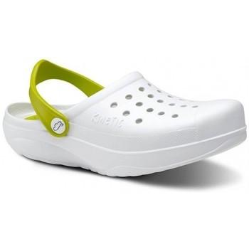 Pantofi Bărbați Saboti Feliz Caminar Zuecos Sanitarios Kinetic - Alb