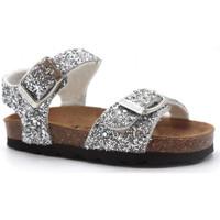 Pantofi Fete Sandale  Pastelle Salome Argintiu