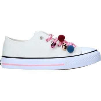 Pantofi Copii Sneakers Miss Sixty S21-S00MS911 Alb