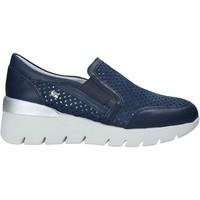 Pantofi Femei Pantofi Slip on Valleverde 18253 Albastru