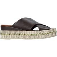 Pantofi Femei Papuci de vară Bueno Shoes 21WQ5907 Negru