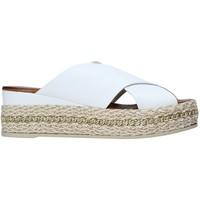 Pantofi Femei Papuci de vară Bueno Shoes 21WQ5907 Alb
