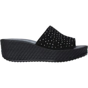 Pantofi Femei Papuci de vară Enval 7280000 Negru